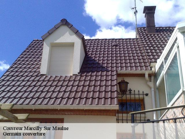 Couvreur  marcilly-sur-maulne-37330 Germain couverture